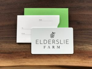 Elderslie Farm Gift Card