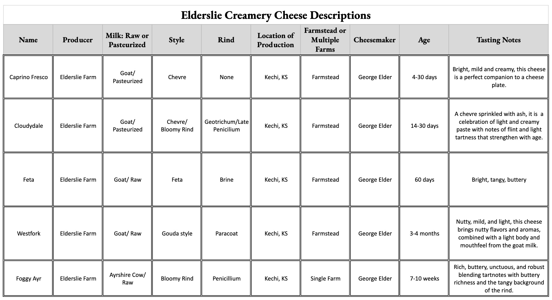 Elderslie Creamery Cheese